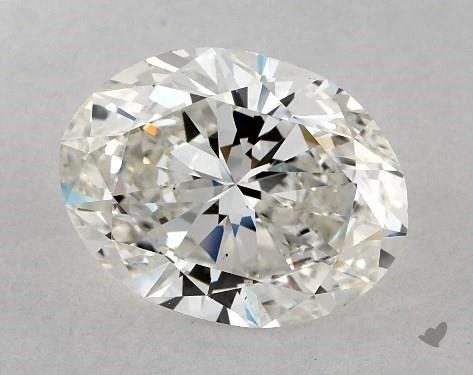 3.00 Carat H-VS2 Oval Cut Diamond
