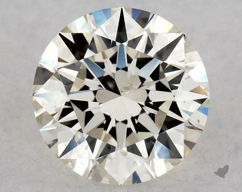 0.71 Carat L-SI2 Excellent Cut Round Diamond