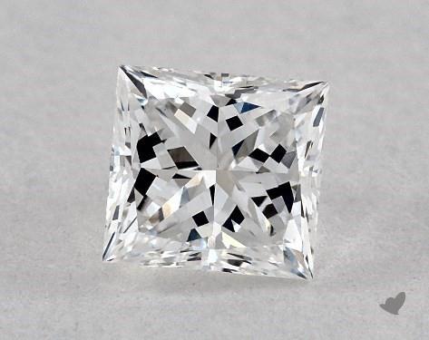 0.37 Carat E-VS1 Very Good Cut Princess Diamond