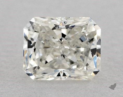 0.81 Carat I-VS1 Radiant Cut Diamond
