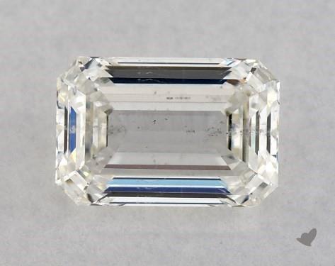 1.00 Carat H-SI2 Emerald Cut Diamond