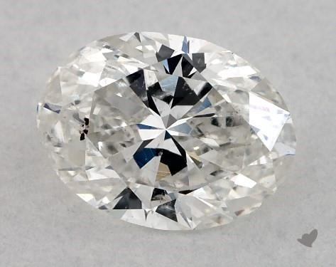 0.70 Carat G-SI2 Oval Cut Diamond