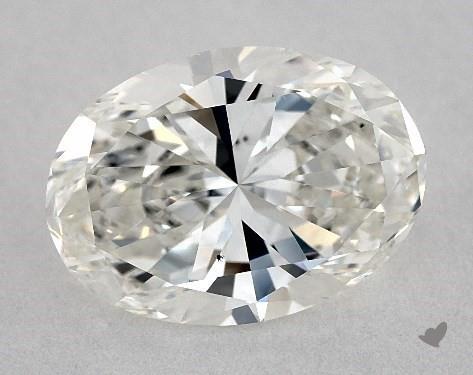 2.20 Carat H-VS2 Oval Cut Diamond
