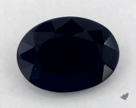 <b>1.16</b> carat Oval Natural Blue Sapphire