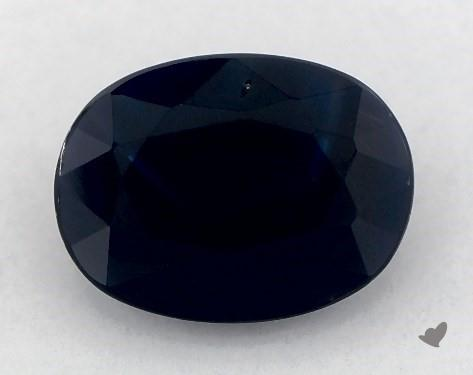 1.40 carat Oval Natural Blue Sapphire