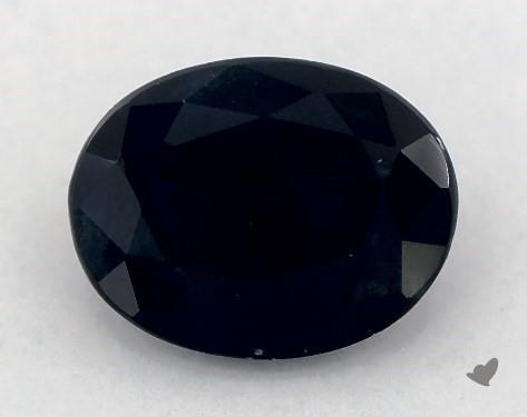 <b>1.52</b> carat Oval Natural Blue Sapphire