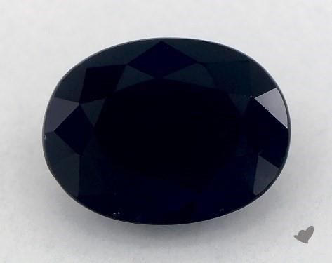 <b>1.65</b> carat Oval Natural Blue Sapphire
