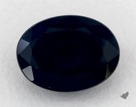 <b>1.81</b> carat Oval Natural Blue Sapphire