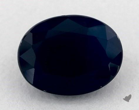 <b>2.07</b> carat Oval Natural Blue Sapphire