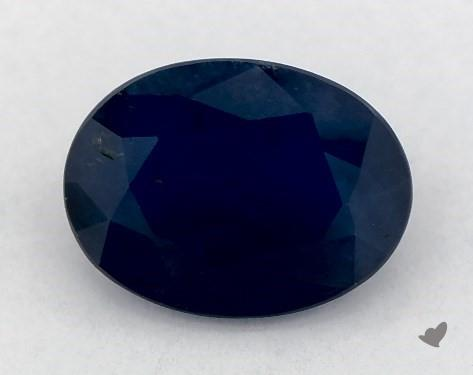 <b>1.33</b> carat Oval Natural Blue Sapphire