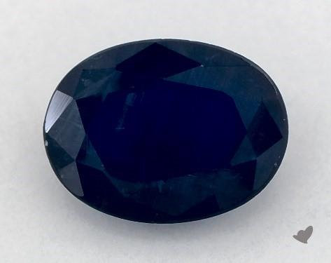 <b>1.42</b> carat Oval Natural Blue Sapphire