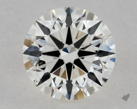 1.34 Carat J-VS2 Excellent Cut Round Diamond