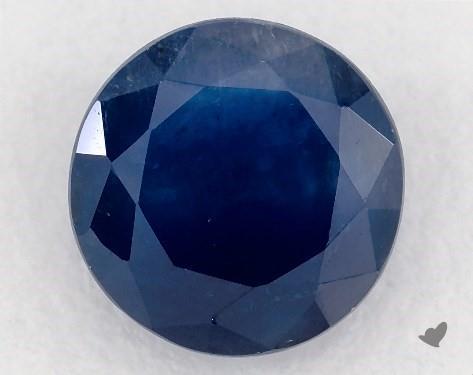 <b>0.98</b> carat Round Natural Blue Sapphire