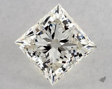 0.72 Carat K-VS1 Ideal Cut Princess Diamond