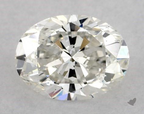 1.01 Carat H-VS2 Oval Cut Diamond