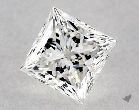 0.72 Carat G-SI2 Ideal Cut Princess Diamond