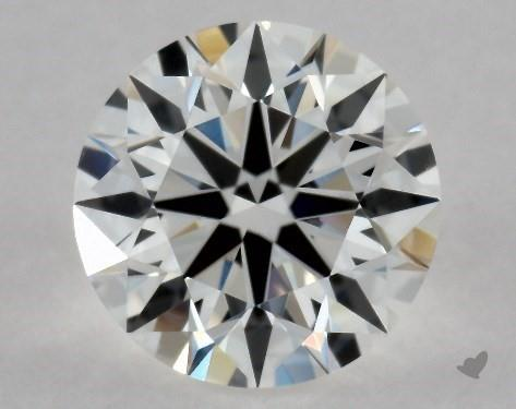 0.57 Carat E-VS1 Excellent Cut Round Diamond