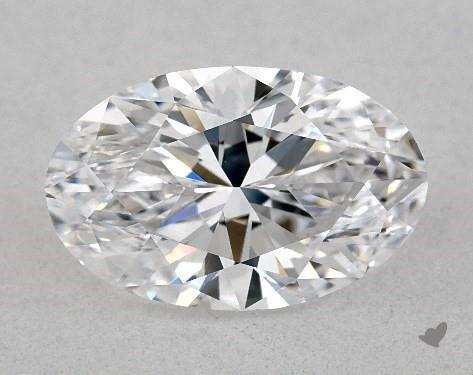 1.71 Carat D-IF Oval Cut Diamond
