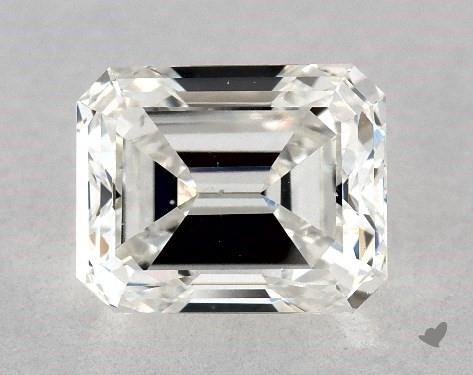 1.02 Carat G-VS2 Emerald Cut Diamond