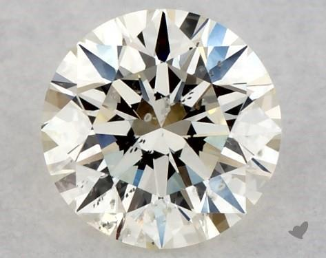 <b>0.31</b> Carat K-SI2 Excellent Cut Round Diamond