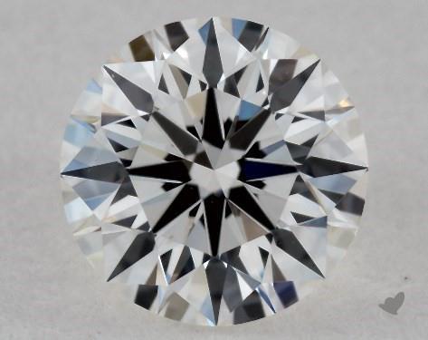 0.53 Carat G-VS2 Ideal Cut Round Diamond