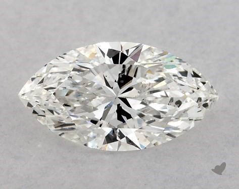 0.70 Carat F-SI1 Marquise Cut Diamond