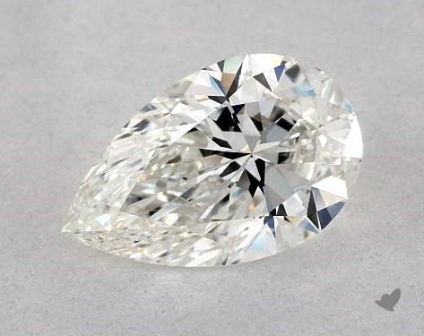 1.22 Carat H-VS2 Pear Shape Diamond