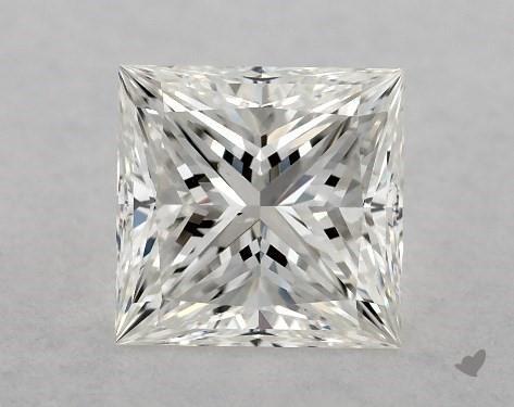 1.01 Carat H-VS2 Ideal Cut Princess Diamond