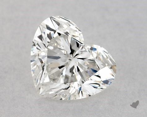 1.02 Carat G-SI1 Heart Shape Diamond