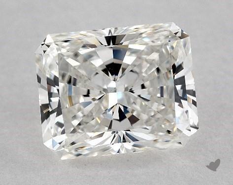 3.03 Carat G-VS1 Radiant Cut Diamond