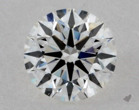 0.50 Carat G-VS1 True Hearts<sup>TM</sup> Ideal Diamond
