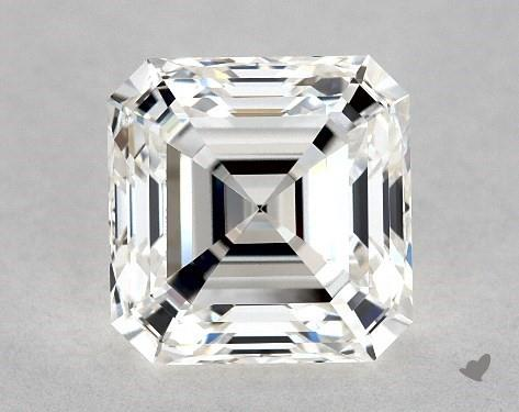 2.01 Carat G-IF Square Emerald Cut Diamond