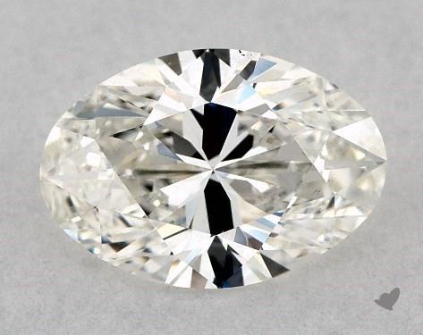 1.02 Carat H-VS2 Oval Cut Diamond
