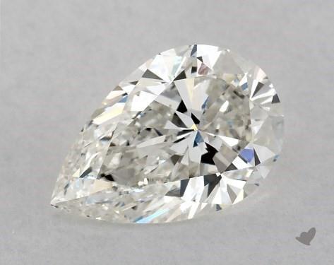 1.51 Carat H-VS2 Pear Shape Diamond