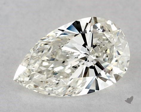1.51 Carat H-VS2 Pear Shape Diamond