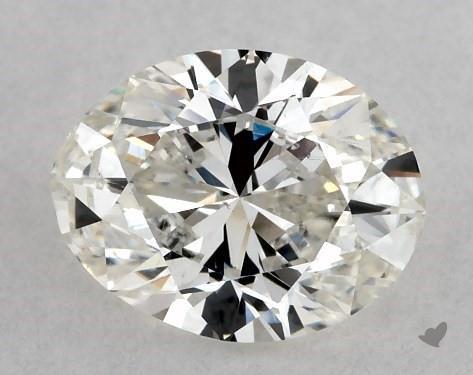 1.01 Carat H-SI1 Oval Cut Diamond