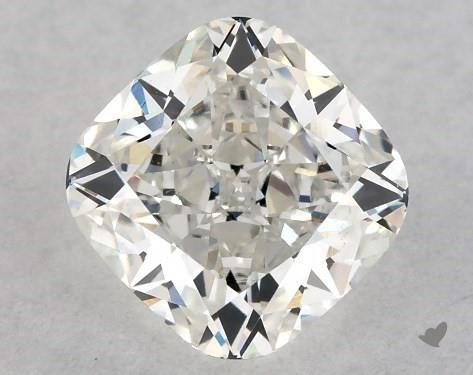 1.00 Carat H-VS2 Cushion Modified Cut Diamond