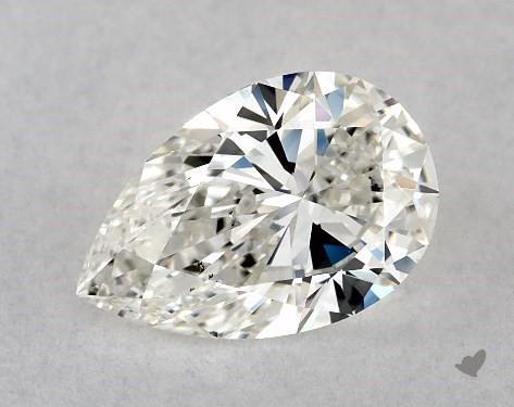 1.07 Carat H-VS2 Pear Shape Diamond