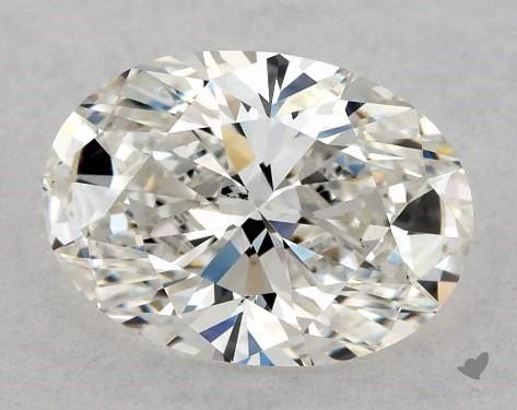1.01 Carat H-SI1 Oval Cut Diamond