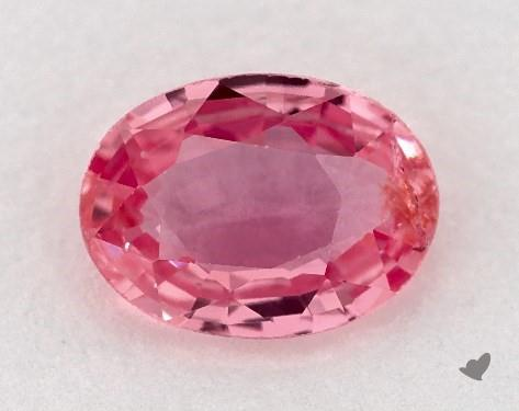 0.82 carat Oval Natural Pink Sapphire