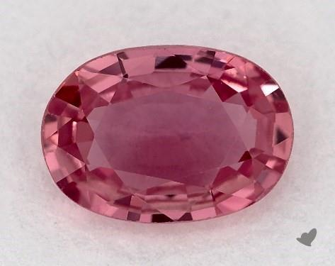 0.83 carat Oval Natural Pink Sapphire