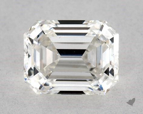 0.89 Carat H-VS2 Emerald Cut Diamond