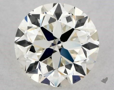 0.40 Carat K-VS1 Very Good Cut Round Diamond