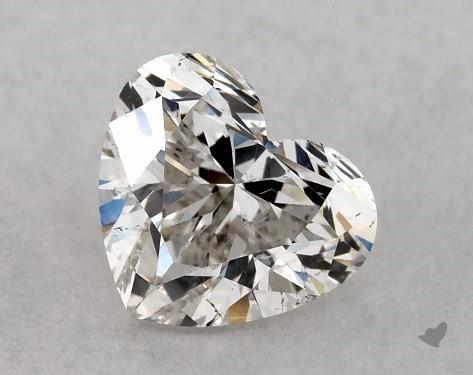 0.50 Carat I-SI2 Heart Shape Diamond