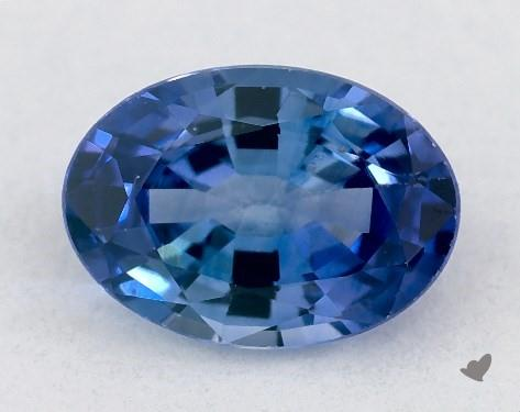 0.72 carat Oval Natural Blue Sapphire