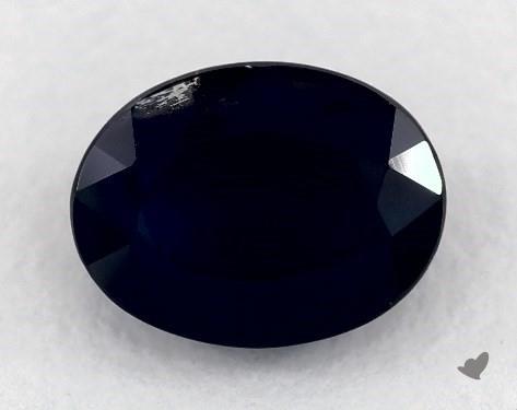 <b>1.30</b> carat Oval Natural Blue Sapphire
