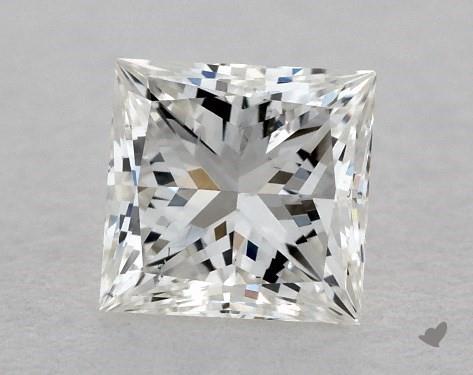 0.38 Carat G-VS2 Ideal Cut Princess Diamond