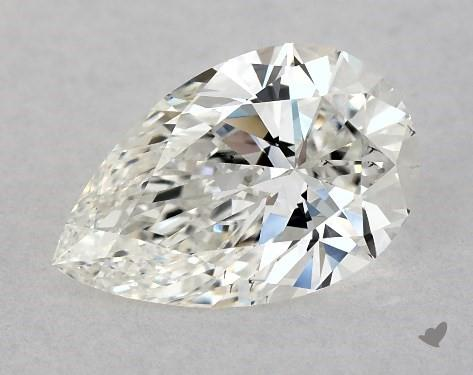 1.31 Carat H-VS2 Pear Shape Diamond