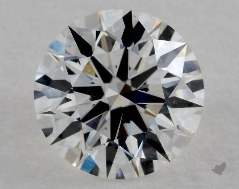 1.53 Carat H-VS2 Ideal Cut Round Diamond