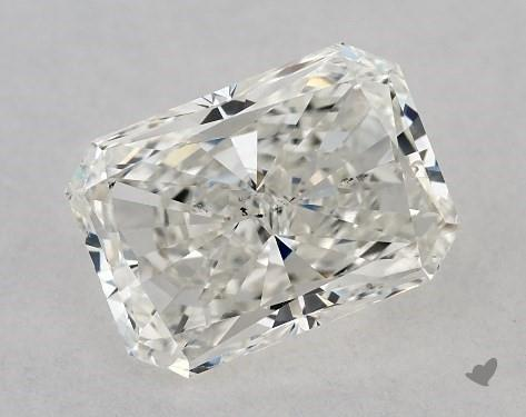1.01 Carat H-SI1 Radiant Cut Diamond